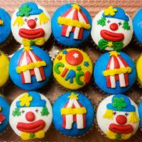 cupcakes circo personalizados caprichitos dulces