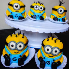 cupcakes minions especiales caprichitos dulces