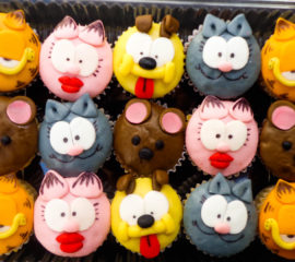 mini cupcakes con diseño caprichitos dulces