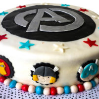 torta avengers caprichitos dulces
