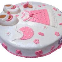 torta baby shower caprichitos dulces