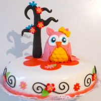 torta buho caprichitos dulces