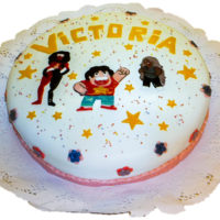 torta caricatura caprichitos dulces