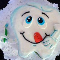torta dentista caprichitos dulces