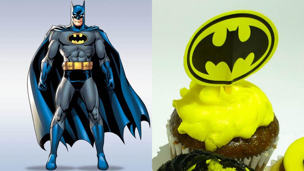 cupcakes personalizados batman caprichitos dulces