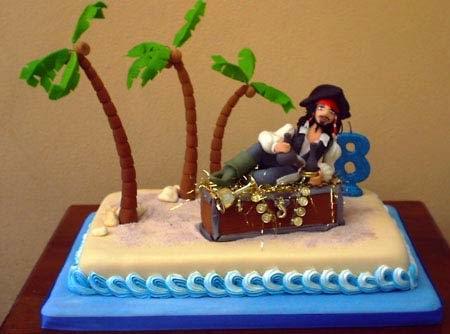 tortas piratas del caribe