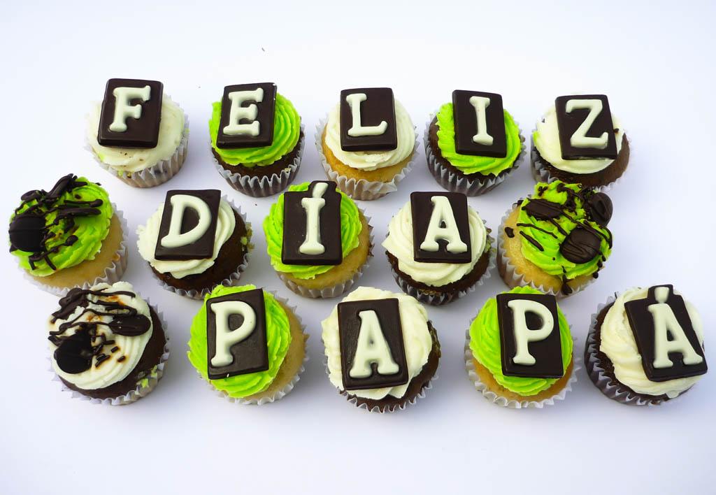 cupcakes personalizados-dia del padre caprichitos dulces